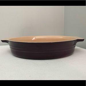 """Le Creuset Purple Au Gratin Baking Dish ~12"""""""